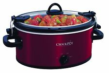 Crock-Pot 4 qt. Cook & Carry Slow Cooker One Size RED