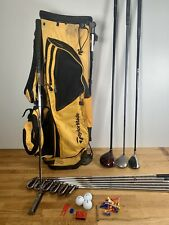 Wilson / Taylormade Full Set Mens Golf Clubs & Sun Mountain Bag - Right Handed