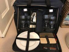 Klobba iconic canvas picnic set bag - rrp £55 - new