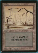 Swamp Beta Arte B x1 Magic The Gathering Casi Nuevo