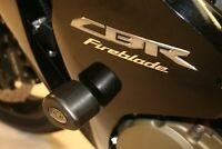 R&G White Crash Protectors - Aero Style for Honda CBR1000RR Fireblade 2015