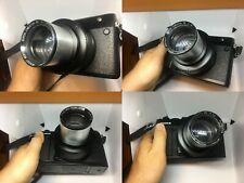 Custom Modified Projection lens 60mm f1.8 + GFX adapter for Fuji 50R Fujifilm,GF