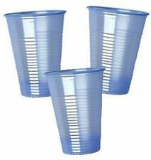 STRONG BLUE PLASTIC CUPS TINT DISPOSABLE WATER VENDING 7 OZ NEW OFFER