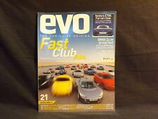EVO MAGAZINE ISSUE 91 MAY 2006. FAST CLUB 2006. BMW Z4M GROUP TEST. NOBLE M15.