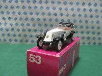 Vintage -  RENAULT  40 Cv. Sport 1923  -  1/43  Rio n°53   Mint in Box