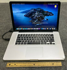 "Apple MacBook Pro A1286 MD103LL/A 2012 15.4"" Laptop i7-3615QM, 8GB RAM 500GB HDD"