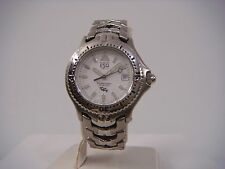ESQ BY MOVADO PROFESSIONAL SILVER DIAL DATE ST.STEEL WOMEN'S WATCH 07100421 NEW