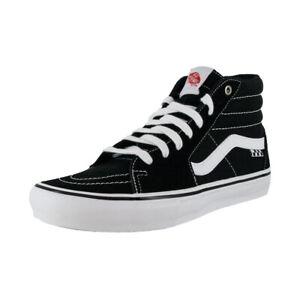 """Vans """"Skate Sk8-Hi"""" Sneakers (Black/White) Skate High-Top Shoes"""