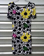 TOPSHOP Flower Stretch Bodycon Mini Dress