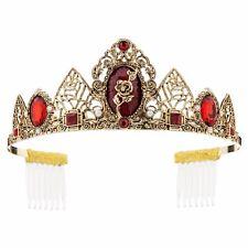 Disney Store Belle Tiara Costume Crown Halloween Princess Beauty & the Beast New