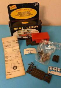 Vintage Mini Lindy Lindberg Plastic 1967 Ford F-100 Pickup Camper NEW BOX NIB