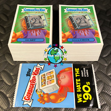 2019 GARBAGE PAIL KIDS WE HATE THE 90's! COMPLETE 220-CARD SET +WRAPPER! 1990's!