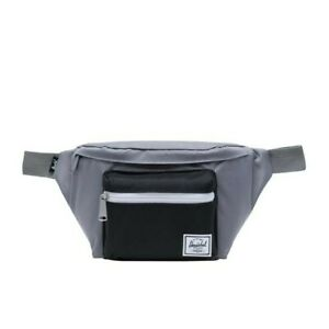 Herschel Supply Co. Seventeen Hip Pack Grey/Black Waist Bag Fanny Pack NWT