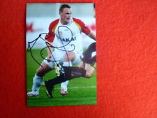 ADELAIDE UNITED KRISTIAN SARKIES SIGNED PHOTOGRAPH 6X4 SIZE SOCCER