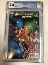 Blackest Night (2010) # 7 (CGC 9.8 WP) Geoff Johns   1st White Lantern
