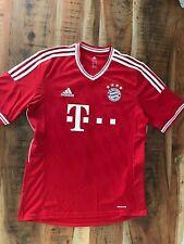 FC Bayern München Fußball Trikot adidas,  Rot, Weiß, Gr. M, Rekordmeister