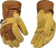 Kinco 1958-XL Men's Lined Waterproof Suede Pigskin Gloves, X-Large