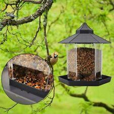 Panorama Wild Bird Feeder Squirrel Proof Seed Food Garden Outdoor Hanging Decors