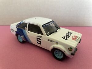 Ford Escort Mk2 RS 1800 Toy Model Rally