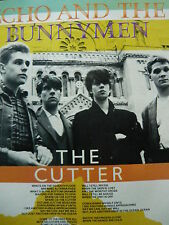 ECHO AND THE BUNNYMEN - MAGAZINE CUTTING (FULL PAGE PHOTO) (REF JA)