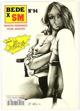 BD adultes  Bédé X N°94, Interview Loïc Dubigeon Centre audiovisuel de productio