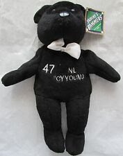 TOM GLAVINE   1998 SALVINO'S BAMERS   NL LEAGUE CY YOUNG   BEANIE BABIE