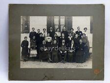 TRIESTE SERVOLA Škedenj 1918 Vecchia foto Mioni cartonata old photo 2