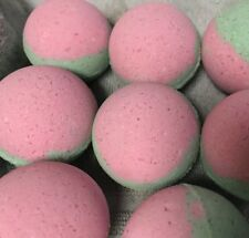 Bath Bombs Fizzies Lot of 8-2.5+ oz Extra Fragrant Watermelon — Lush Luxurious