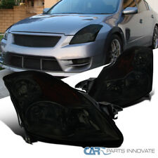 For 07-09 Nissan Altima 4Dr Sedan Replacement Smoke Headlights Driving Lamps