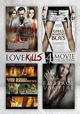 Love Kills: 4 Movie Collection (DVD, 2015) 4-Disc Set New Factory Sealed!