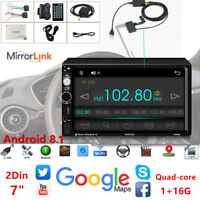 """2DIN 7"""" Android Car Radio GPS Navigation Audio Stereo Multimedia MP5 Player Kit"""