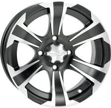 ITP SS312 Black ATV Wheel front or rear 12x7 4/110 - (5+2) [12SS700] 1228439536B