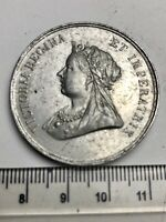 "1901 British Royal Family ""In Memoriam"" Medal - Queen Victoria (C020)"