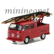 GREENLIGHT 29870 E 1976 VOLKSWAGEN TYPE 2 DOUBLE CAP PICK UP LADDER TRUCK 1/64