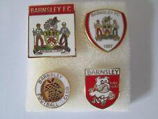 j1 lotto 4 pins lot BARNSLEY FC club spilla football calcio badge spille