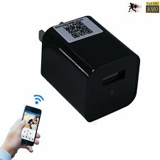 WIFI Spy Camera USB Wall Charger Hidden Camera Motion Activated Audio Video Cam