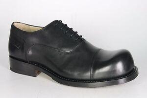 1006 HOBO Schnürschuhe CHARLY MARCELLE Black Rahmengenähte Schuhe