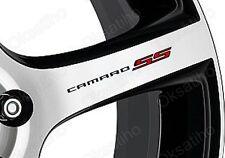 8 * CAMARO SS Wheel Stickers Vinyl Decals Printed Self Adhesive Emblem - 287-1
