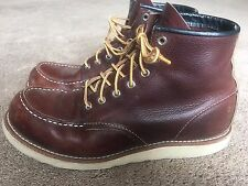 Red Wing 8138 Moc Toe Heritage  Boots - Size 9.5d