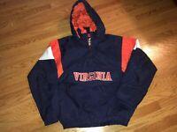 Virginia Cavaliers Majestic Pullover Jacket - New With Tags - MEDIUM UVA Vintage