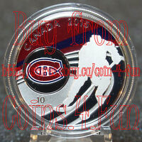 COA#73 - 2015 NHL Canadian Teams Montreal Canadiens 1/2 oz $10 Fine Silver Coin