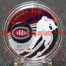 COA#68 - 2015 NHL Canadian Teams Montreal Canadiens 1/2 oz $10 Fine Silver Coin