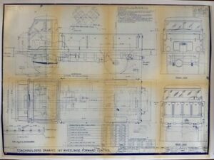 Land Rover Series 2b Forward Control Factory Technical Coach Builders Drawings