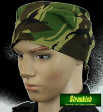 GENUINE DUTCH ARMY BANDANA / SCARF in WOODLAND DPM CAMO