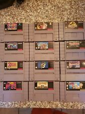 Lot of 26 Super Nintendo games zelda  Super Mario, mario kart turtles  etc