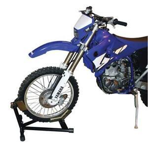MOTORCYCLE MOTORBIKE SAFE HEAVY DUTY SELF ASSEMBLY WHEEL CHOCK KIT
