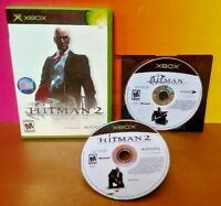 Hitman 2 + Hitman Contracts Silent Assassin  Microsoft Xbox OG Game Rare Tested