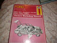 FORD FIESTA 1976-77 STANDARD,L,S,GHIA HAYNES WORKSHOP MANUAL