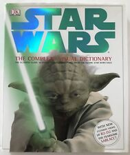 Star Wars: The Complete Visual Dictionary Book Ultimate Guide to Characters DJ