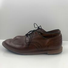 Allen Edmonds Alumnus Wingtip Oxfords Leather Brown 1811 Mens Size 13